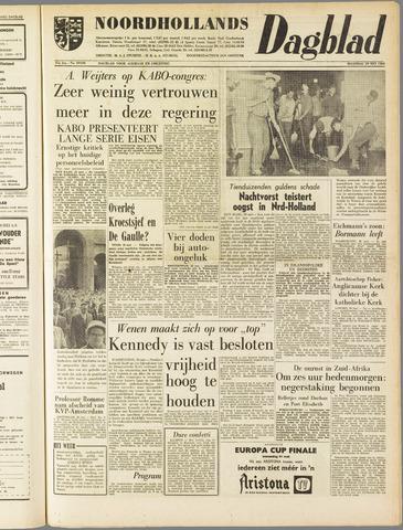 Noordhollands Dagblad : dagblad voor Alkmaar en omgeving 1961-05-29