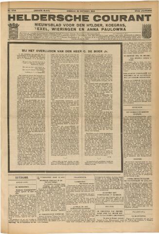 Heldersche Courant 1929-10-22
