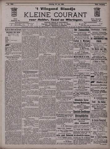 Vliegend blaadje : nieuws- en advertentiebode voor Den Helder 1900-06-30