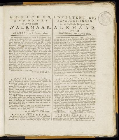 Alkmaarsche Courant 1812-07-08