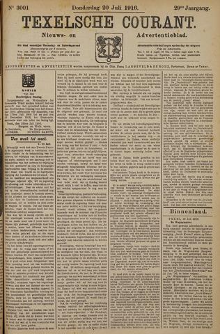 Texelsche Courant 1916-07-20