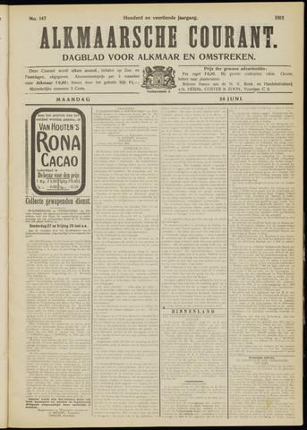 Alkmaarsche Courant 1912-06-24