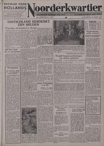 Dagblad voor Hollands Noorderkwartier 1942-03-16