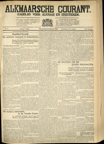 Alkmaarsche Courant 1933-02-09