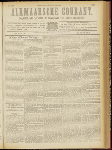 Alkmaarsche Courant 1916-10-16