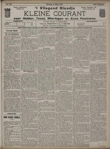 Vliegend blaadje : nieuws- en advertentiebode voor Den Helder 1909-03-20