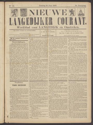 Nieuwe Langedijker Courant 1899-06-18
