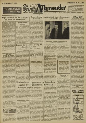 De Vrije Alkmaarder 1949-01-20