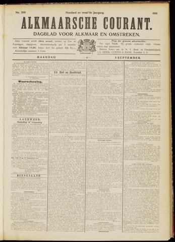 Alkmaarsche Courant 1910-09-05