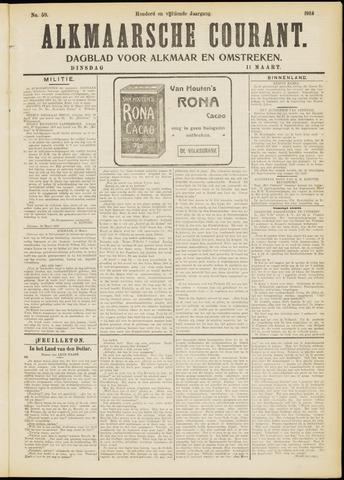 Alkmaarsche Courant 1913-03-11