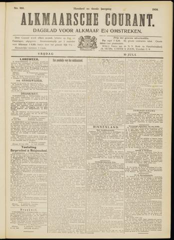Alkmaarsche Courant 1908-07-10