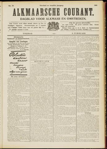 Alkmaarsche Courant 1910-02-11