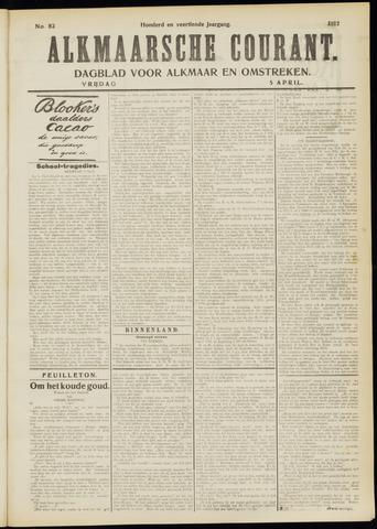 Alkmaarsche Courant 1912-04-05
