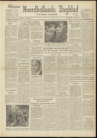 Nieuw Noordhollandsch Dagblad : voor Alkmaar en omgeving 1948-01-14