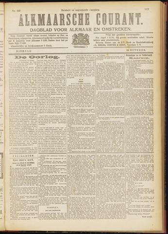 Alkmaarsche Courant 1917-10-16