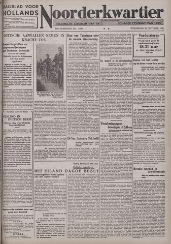 Dagblad voor Hollands Noorderkwartier 1941-10-22
