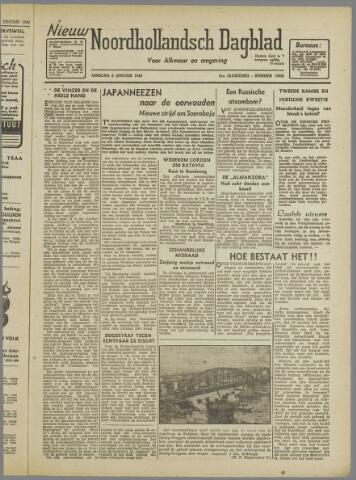 Nieuw Noordhollandsch Dagblad : voor Alkmaar en omgeving 1946-01-08