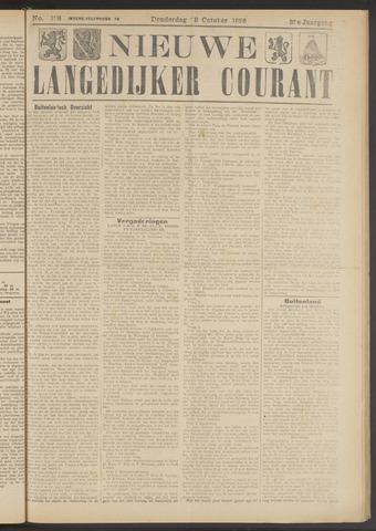 Nieuwe Langedijker Courant 1926-10-28