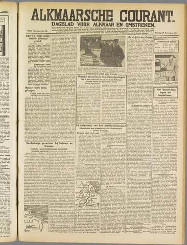 Alkmaarsche Courant 1941-11-25
