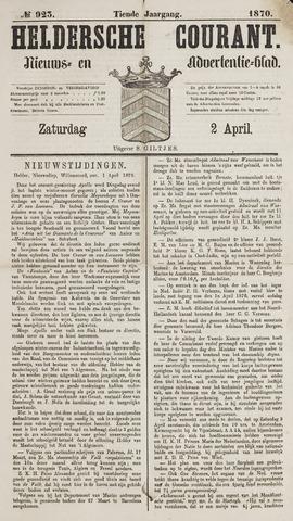 Heldersche Courant 1870-04-02