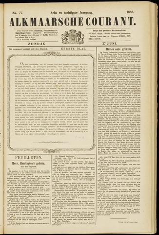 Alkmaarsche Courant 1886-06-27
