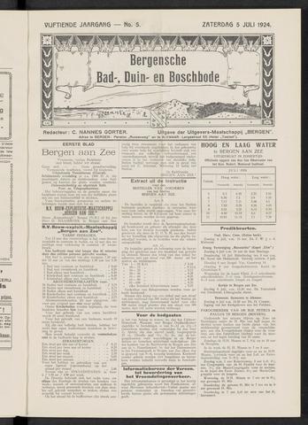 Bergensche bad-, duin- en boschbode 1924-07-05