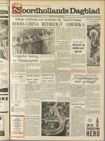 Noordhollands Dagblad : dagblad voor Alkmaar en omgeving 1964-08-06