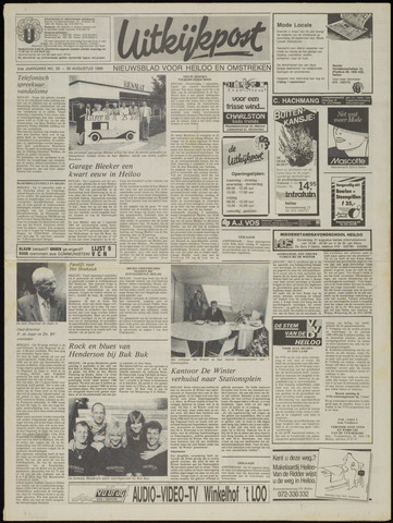 Uitkijkpost : nieuwsblad voor Heiloo e.o. 1989-08-30