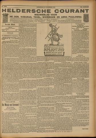 Heldersche Courant 1921-11-24