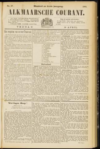 Alkmaarsche Courant 1901-04-19