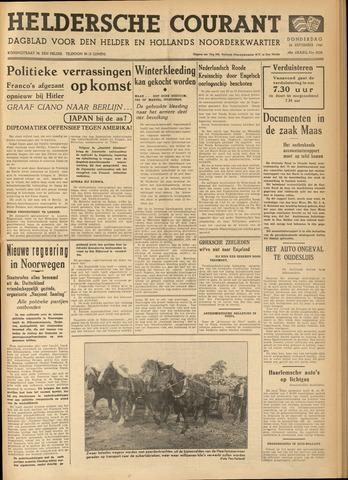 Heldersche Courant 1940-09-26