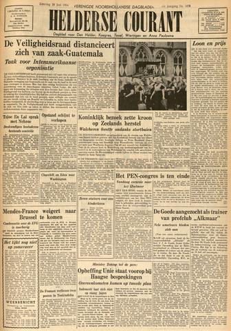 Heldersche Courant 1954-06-26