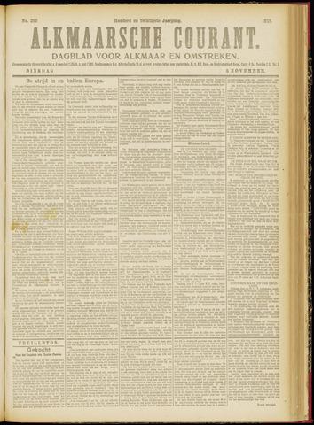 Alkmaarsche Courant 1918-11-05