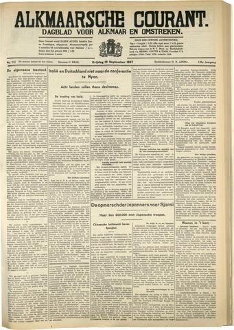 Alkmaarsche Courant 1937-09-10