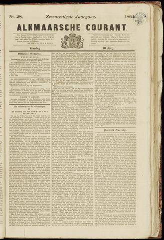 Alkmaarsche Courant 1864-07-10