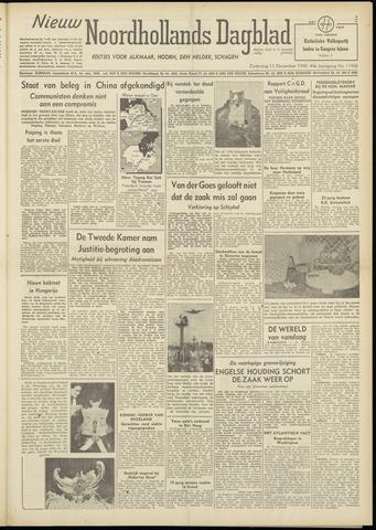 Nieuw Noordhollandsch Dagblad : voor Alkmaar en omgeving 1948-12-11