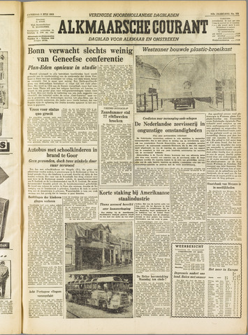 Alkmaarsche Courant 1955-07-02