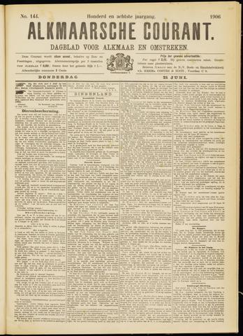 Alkmaarsche Courant 1906-06-21