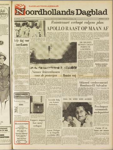 Noordhollands Dagblad : dagblad voor Alkmaar en omgeving 1969-07-17