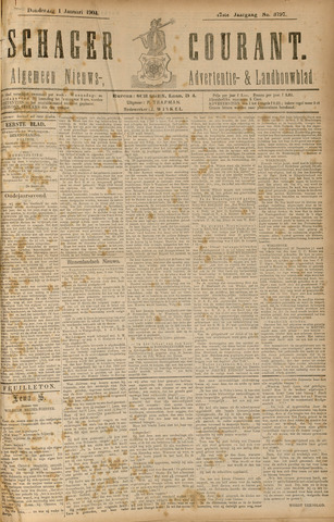 Schager Courant 1903