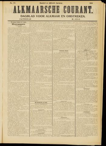Alkmaarsche Courant 1913-07-26