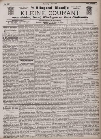 Vliegend blaadje : nieuws- en advertentiebode voor Den Helder 1902-06-04