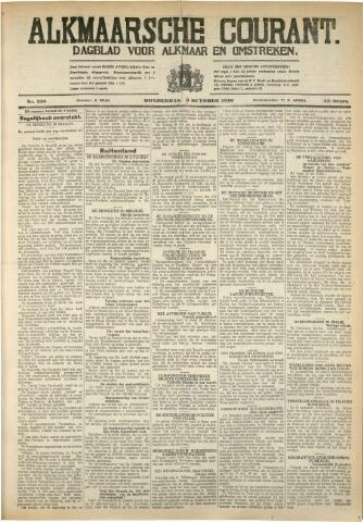 Alkmaarsche Courant 1930-10-09