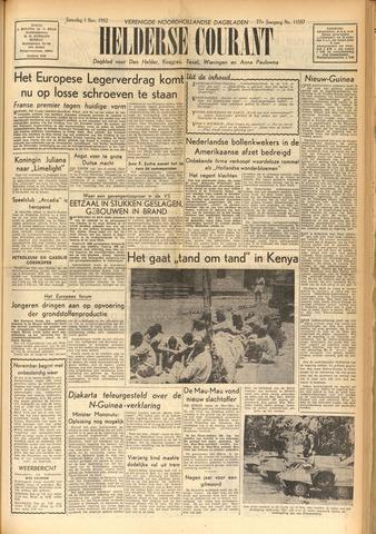 Heldersche Courant 1952-11-01