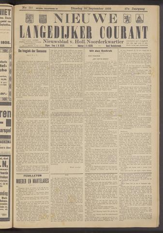 Nieuwe Langedijker Courant 1928-09-25