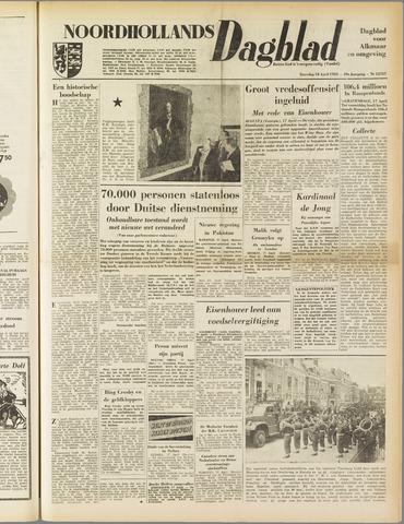 Noordhollands Dagblad : dagblad voor Alkmaar en omgeving 1953-04-18