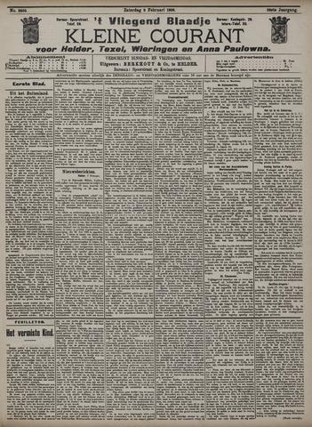 Vliegend blaadje : nieuws- en advertentiebode voor Den Helder 1908-02-08