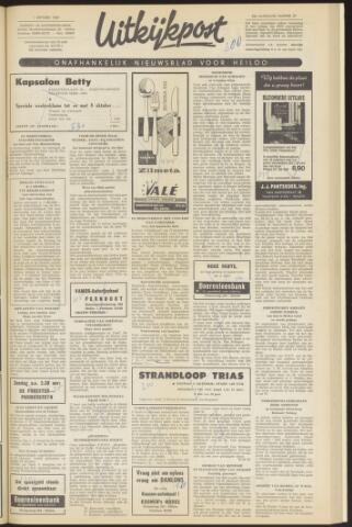 Uitkijkpost : nieuwsblad voor Heiloo e.o. 1969-10-01