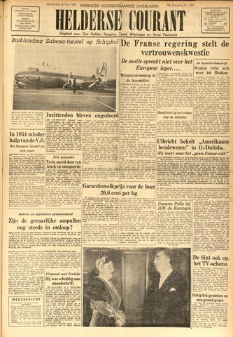 Heldersche Courant 1953-11-26