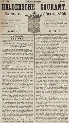 Heldersche Courant 1868-05-30